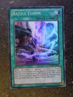 Yugioh Cards: BATTLE FUSSION DRLG SUPER RARE # 3D86