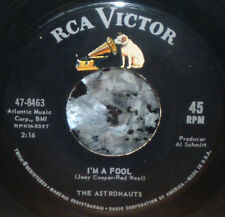 "*<* THE ASTRONAUTS 1964 ""I'M A FOOL/CAN'T YOU SEE I DO"": CLEAN M- GEM 45/SLEEVE!"