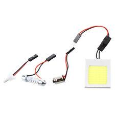 Lichtpanel 48 COB LED Panel Weiss DC 12V 3.5W +Soffitte Modul +T10 +BA9S Adapter