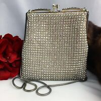 Vintage 1950's Walborg Rhinestone Evening Bag