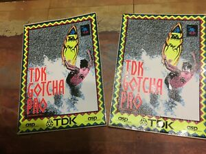 TDK Cassettes Promotional Stickers Lot of 2 NEW