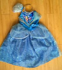 UK Disney Cinderella Kids Girls Costume Fairytale Dress Up 5 - 6 Years