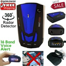 HOT SALE Car Radar Detector Speed Laser Voice Alert 360 Degree 16 Band GPS Mount