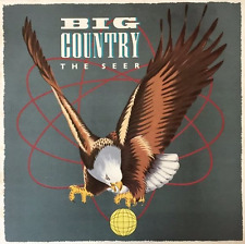 BIG COUNTRY ‎- The Seer (LP) (EX/G-VG)