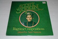 Scott Joplin & His Friends~Ragtime Compositions played by Ann Charters~FAST SHIP