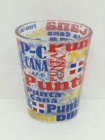 Punta Cana Dominican Republic Shot Glass Souvenir Republica Dominicana Shotglass