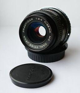 Carl Zeiss Jena MC Prakticar/Flektogon f/2.4 35mm Wide Angle Lens Canon EF mount