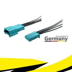 Buchse + Stecker 4-polig Reparatursatz 61132359994 61136925611 für BMW MQS Kabel