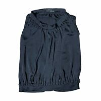 Club Monaco Black Sleeveless Blouson Blouse XS