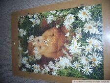 Kellerfund Dachbodenfund Puzzle Baby Wiese Blumen Anne Geddes Haushaltsauflösung