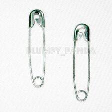 1000 Pieces Silver Nickel Plated Coiled Safety pins 32 mm 1-1/4 inches GIFTS