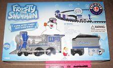 Lionel new 7-11498 Frosty the Snowman G-Gauge Set