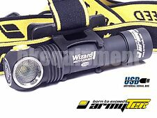 ArmyTek Wizard Pro v3 Cree XHP50 CW Magnetic USB Rechargeable Headlight+18650