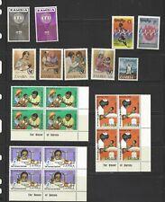 Zambia, several sets