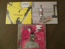 SPIRAL TRIBE  / LOT 3 CDS NEUFS SIGNAL ELECTRIQUE / ELECTRO TECHNO FRENCH TOUCH