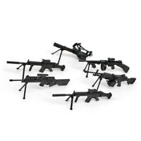 1x Mini 4D Assembled Submachine Gun Model Vector Weapon Small Toy Gift
