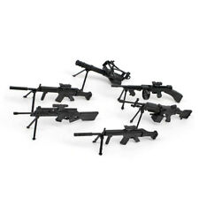1x Mini 1/6 Scale 4D Assembled Submachine Gun Model Vector Weapon Small Toy