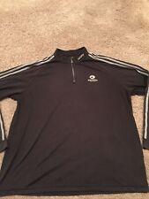 Bandon Dunes Golf Resort Caddy Looper Uniform Adidas 1/4 Zip Pullover L