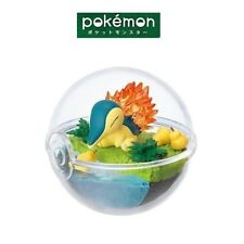 RE-MENT Pokemon Terrarium Collection 3 Ball Case Figure Cyndaquil Hinoarashi NEW