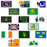 Irish Ireland St Patricks Day Flags 5Ftx3Ft 5'X3' Large Party Decoration Banner