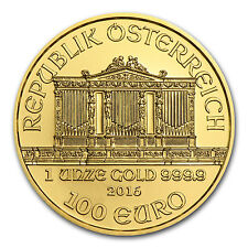 2016 Austria 1 oz Gold Philharmonic BU SKU #93719