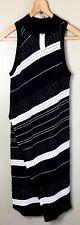 Moth Dress Womens S NWT Anthropologie  Asymmetrical Knit Body Con Black White