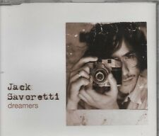JACK SAVORETTI Dreamers 2 TRACK CD     NEW - NOT SEALED