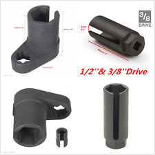 22mm 3/8'' & 1/2'' Drive Car Oxygen Sensor Socket O2 Wrench Offset Removal Tools