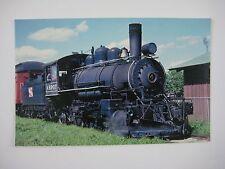 Leona & Northern 2-6-2 #4 Vintage 1916 Vulcan Steamer Passenger Train Postcard