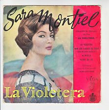 """Sara MONTIEL Vinyl 45T 7"""" EP Film LA VIOLETERA - MIMOSA - HISPA VOX 1751 RARE"""