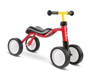 Puky Wutsch Kinder Laufrad Lauflernrad Rutscher Rutschfahrzeug rot color 3029