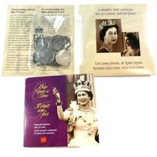Canada 2002 Queen Elizabeth II RCM Keepsake with 10 Jubilee 50c Coins!!