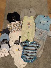 15 teiliges Baby Bekleidungsset Jungen Größe 50/56