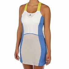 Womens Adidas Stella McCartney tennis  Dress blue grey shorts L UK 14 BNWT