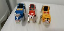 Voltron panosh palace 3 lion lot bundle red blue yellow