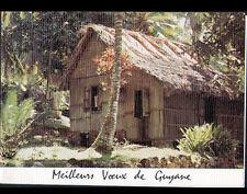 CASE ETHNIQUE (GUYANE Française) HABITAT INDIEN / MEILLEURS VOEUX