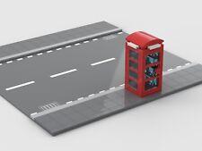 Lego British Phone Box MOC Instructions Only NO BRICKS