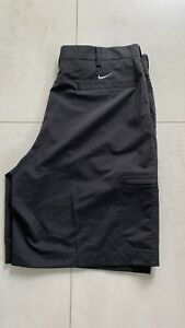 Nike Golf Hose Shorts Bermuda Schwarz DryFit Neu 33 34 M L