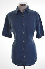 Joop Womens Denim Shirt XS Blue Tencel