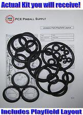 1993 Data East Jurassic Park Pinball Machine Rubber Ring Kit