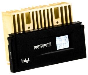 INTEL PENTIUM II SL2ZQ 350MHz SLOT1 + HEATSINK