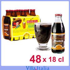 Bibita calabrese al caffè Brasilena  Gassosa 48 bottiglie da 18 cl