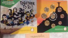 manueduc   BELGICA  2016 CARTERA 9 Coins  con 2 € EQUIPO OLÍMPICO  RIO   NUEVA