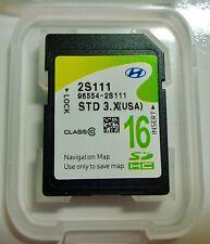 OEM 2014 2015 Hyundai Tucson Navigation SD CARD Map for US Part# 96554-2S111