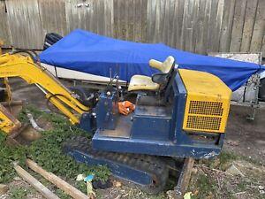 1.5 Tonne Peljob Rubber Tracked Mini Digger Excavator