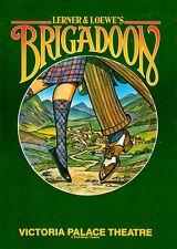 BRIGADOON * 1988 * Robin Nedwell * Robert Meadmore * Souvenir Programme