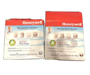 LOT of 2 - Honeywell HRF-AP1 Air Purifier Pre Filter A Cut to Size NEW*