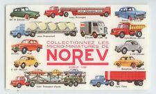 BUVARD NOREV VOITURES RENAULT 4 CV DAUPHINE  CITROEN DS 2 CV CAMION HY UNIC TBE