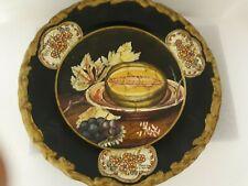 Raymond Waites Decorative Black Plate