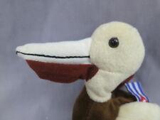 New Coca-Cola Can Cuba Flag Brown Pelican Bird Plush Soft Realistic Stuffed